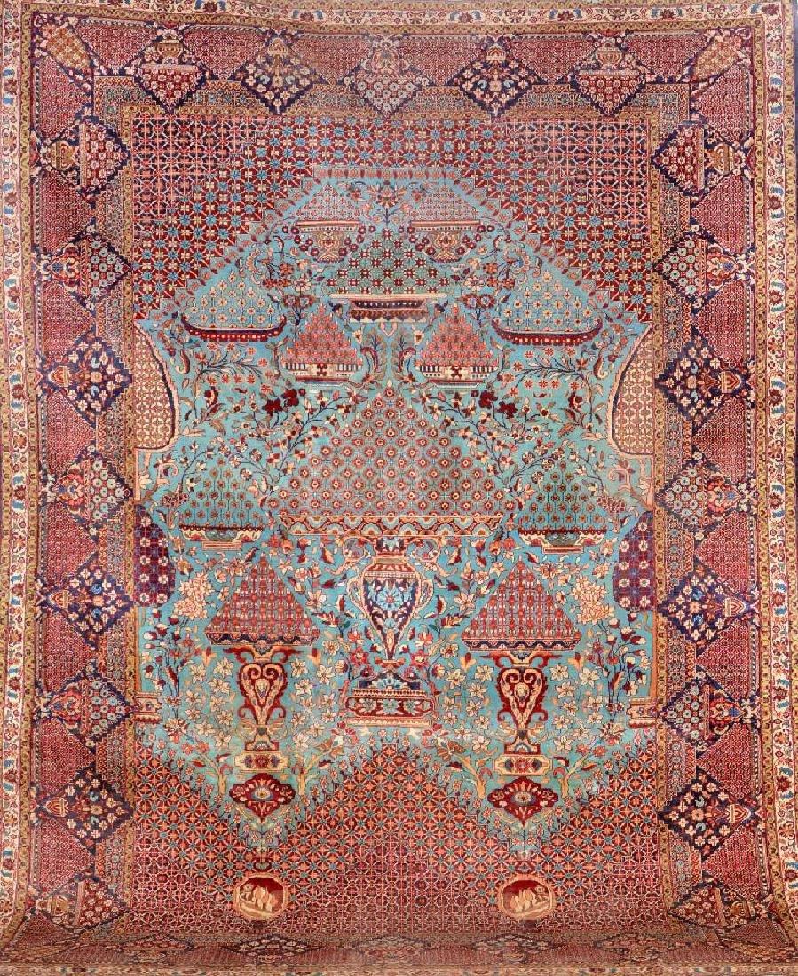 Lahore Carpet (Hadji-Khanumi Design),