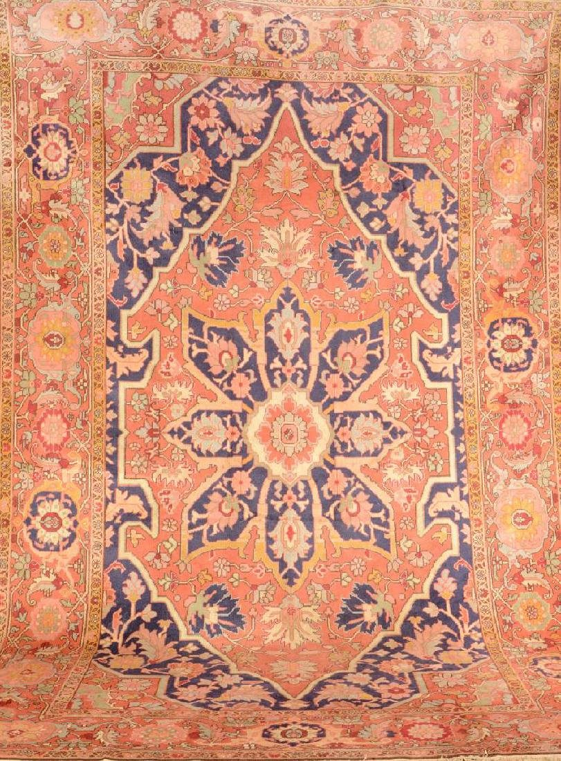 Heriz-Romani Carpet,