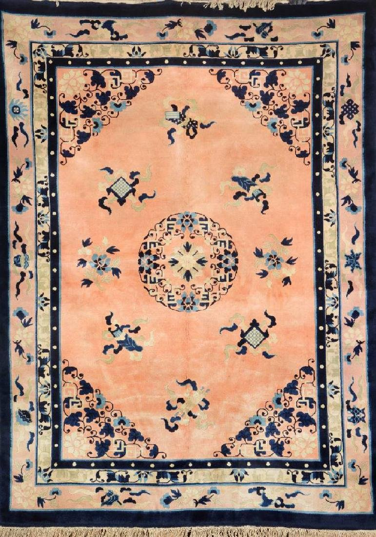 Fine Chinese 'Antique-Finished' Carpet,