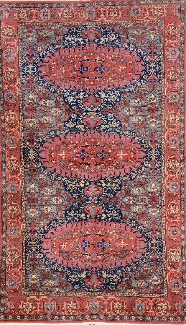 Hereke 'Wool-Carpet' (Medallion-Oushak Design),