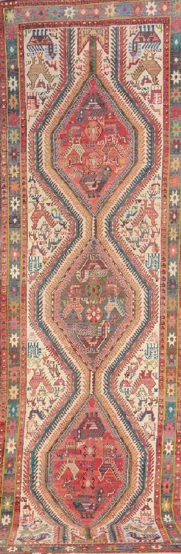 Azeri-Sumakh Ardebil 'Runner' (Flatweave),
