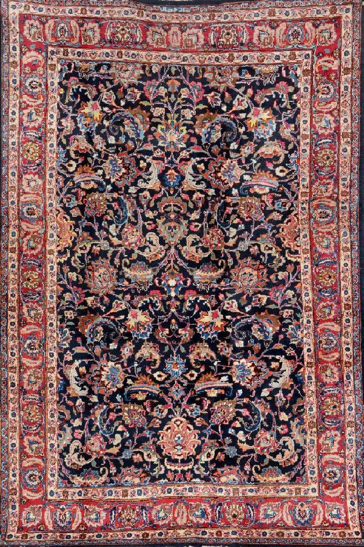 Meshed Carpet (Signed),