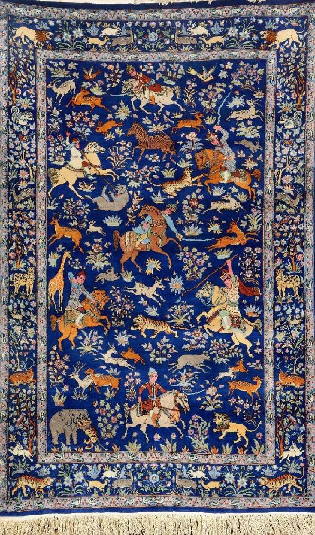 Lahore Rug (Hunting Design),