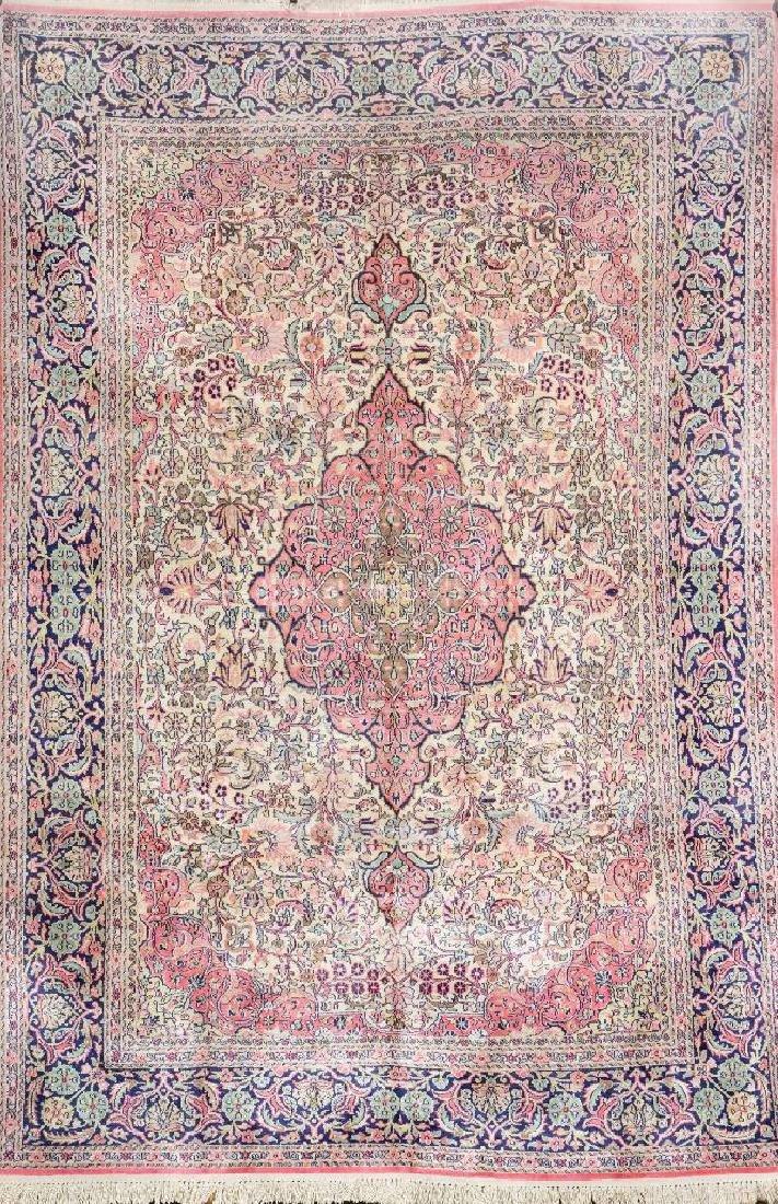 Silk Kashmir Rug,