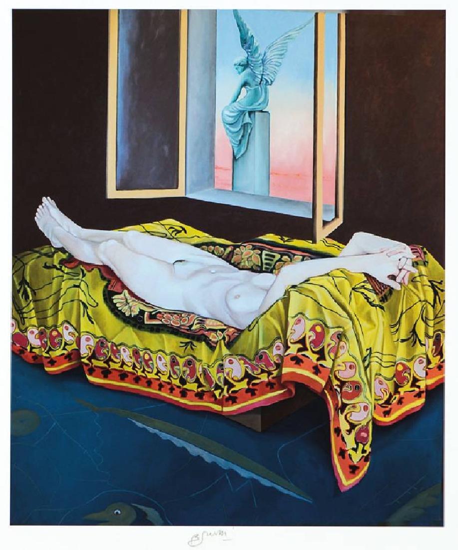 Bruno Bruni, born 1935 Granada, L´Angelo, pigment