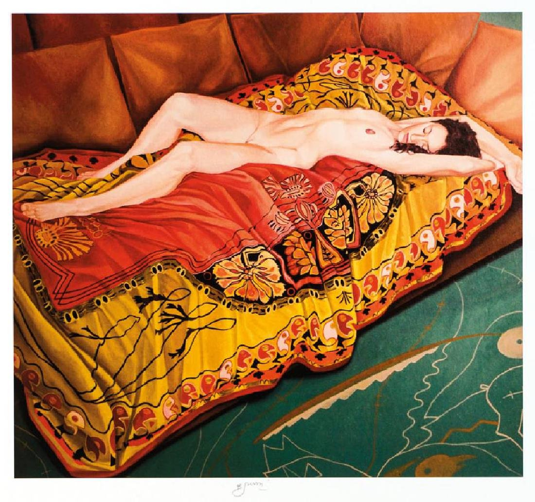 Bruno Bruni, born 1935 Granada, Nudo II, pigment