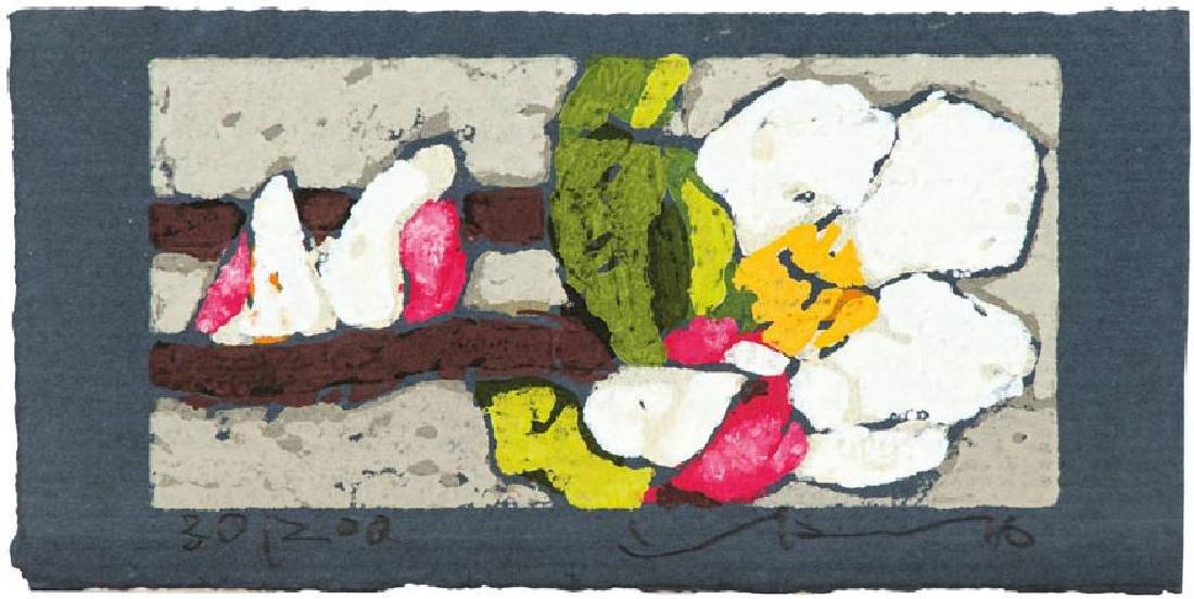 Klaus Fussmann, born 1938 Velbert, apple blossom