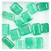 Lot loose emeralds total approx 209 ct rectangular