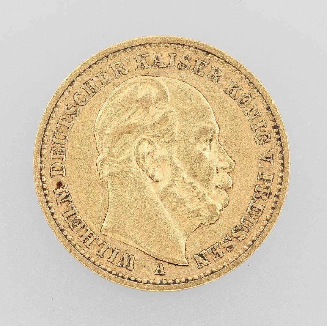 Gold coin, 20 Mark, German Reich