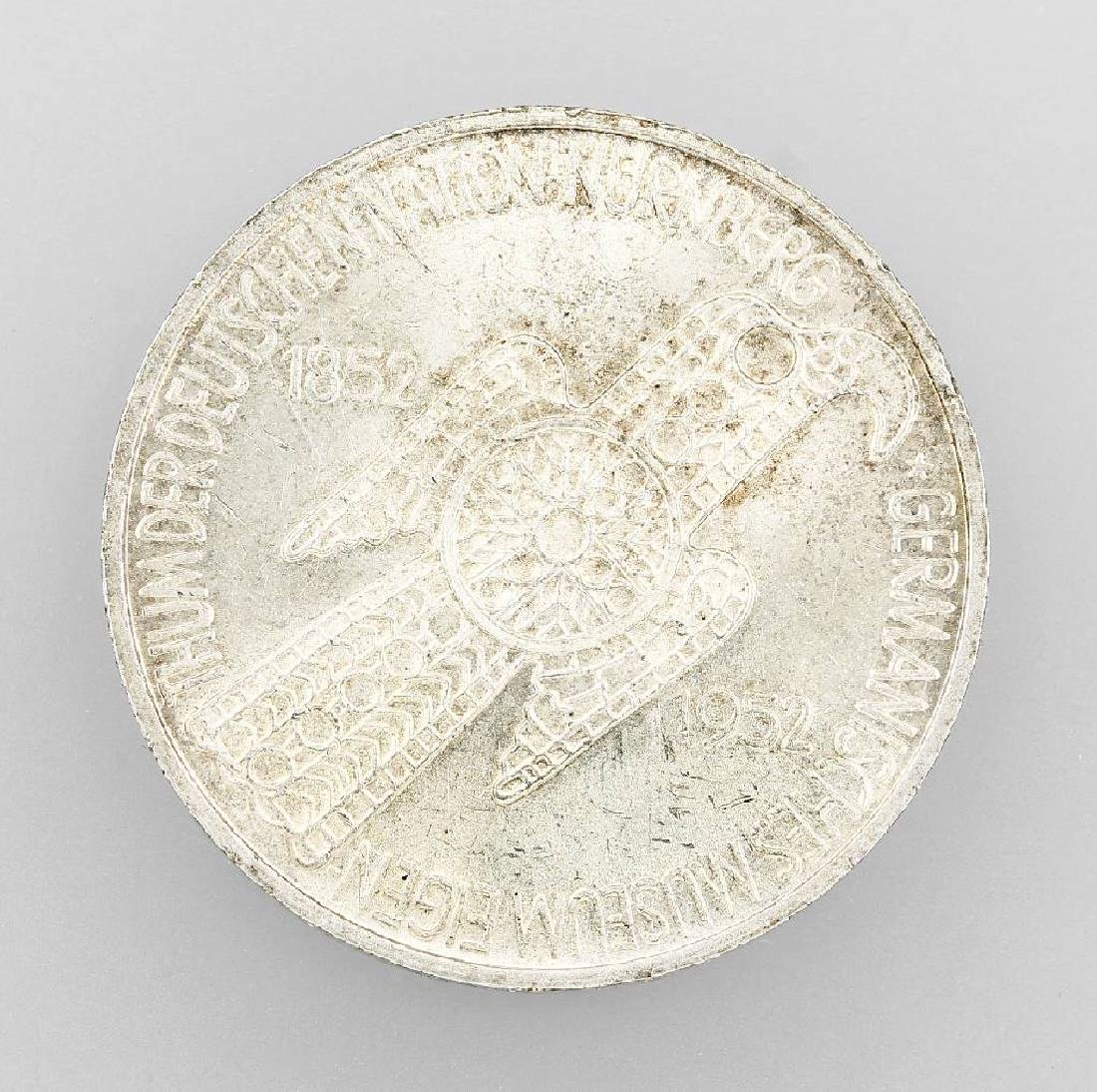 Silver coin, 5 Mark, Germany, 1952