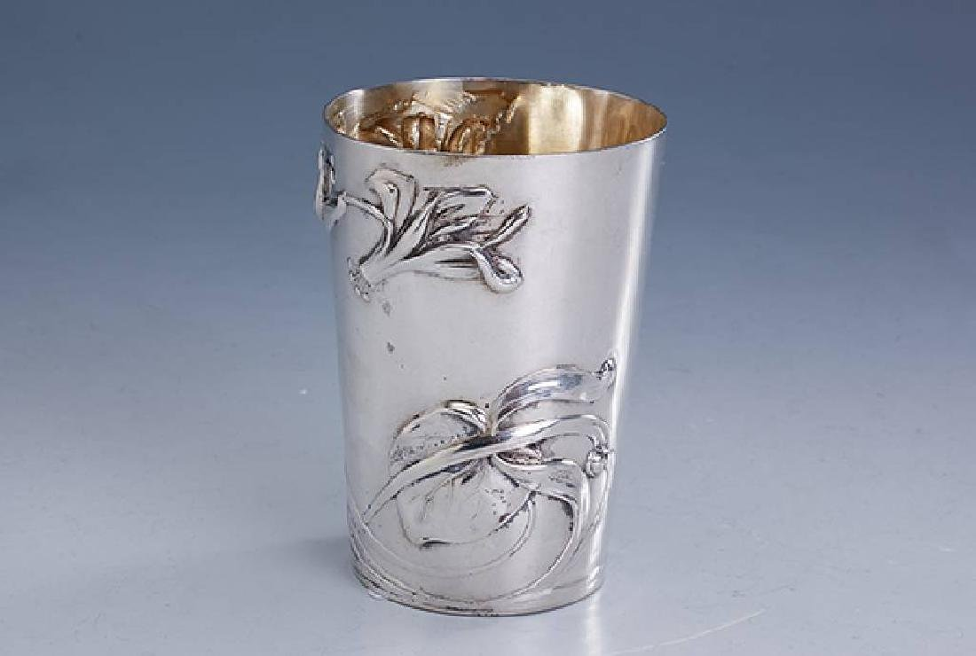 Art-Nouveau beaker, german approx. 1900s