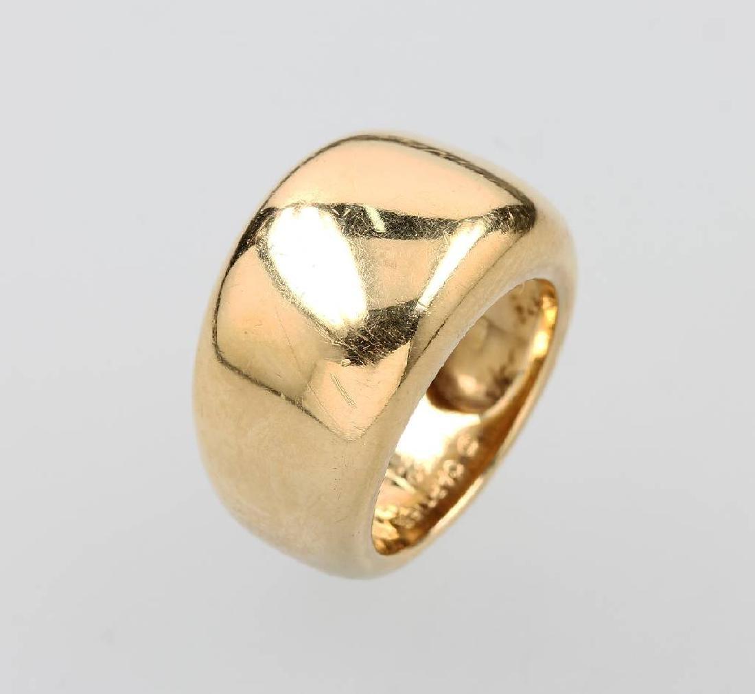 18 kt gold CARTIER ring 'Nouvelle Vague'