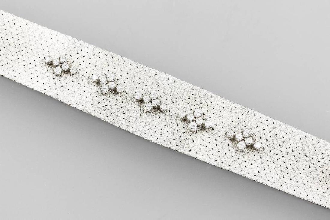 18 kt gold BUCHERER-bracelet with brilliants