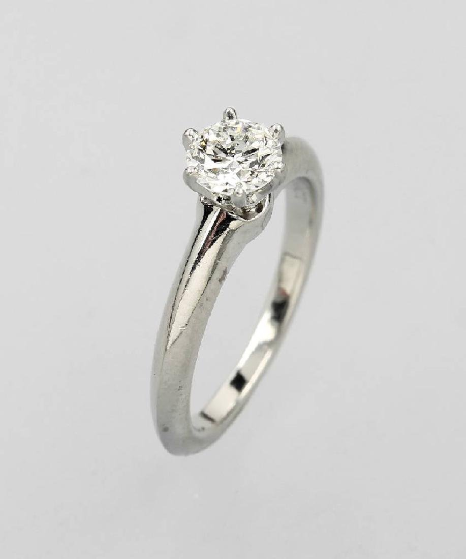 TIFFANY & Co. ring with brilliant
