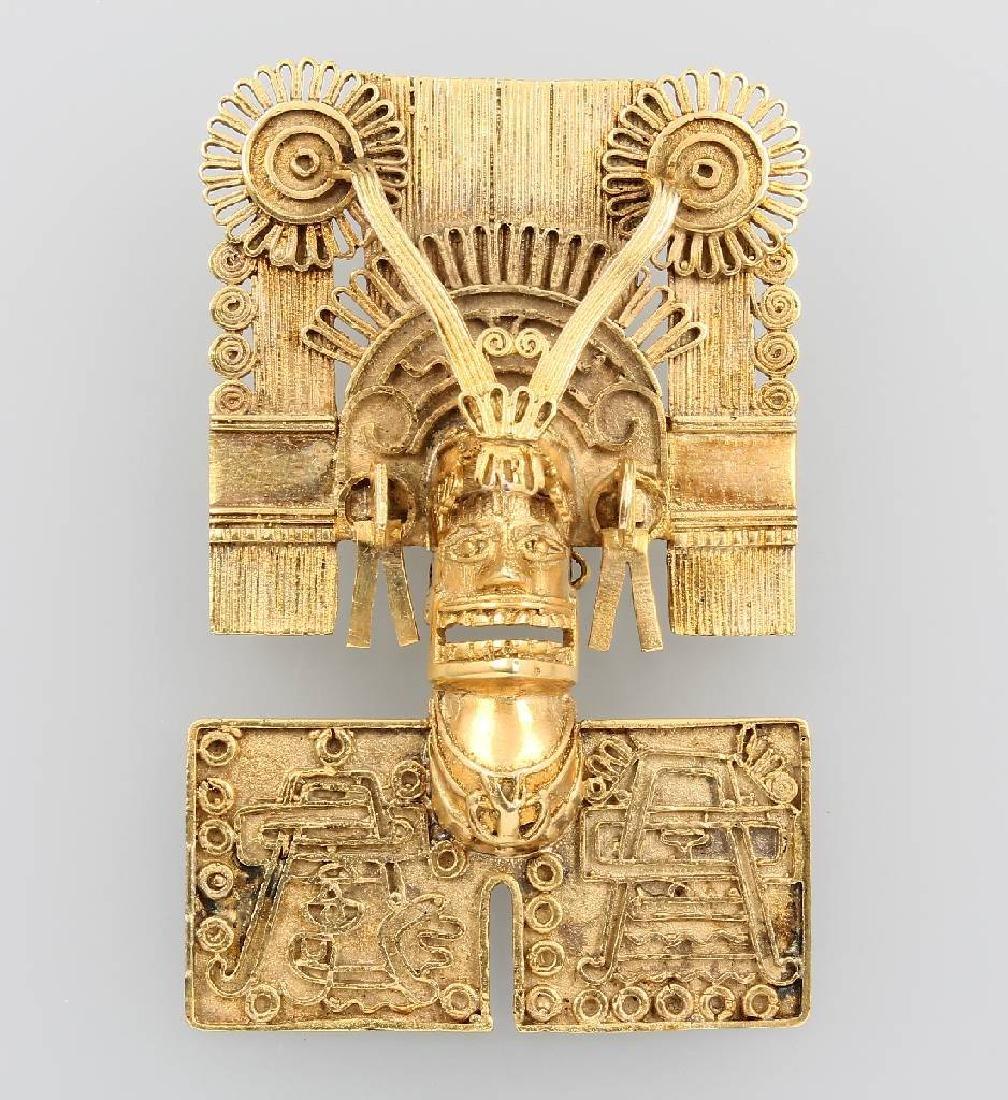 14 kt gold pendant