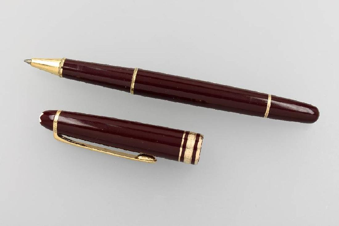 MONTBLANC rollerball Masterpiece 163 Bordeaux