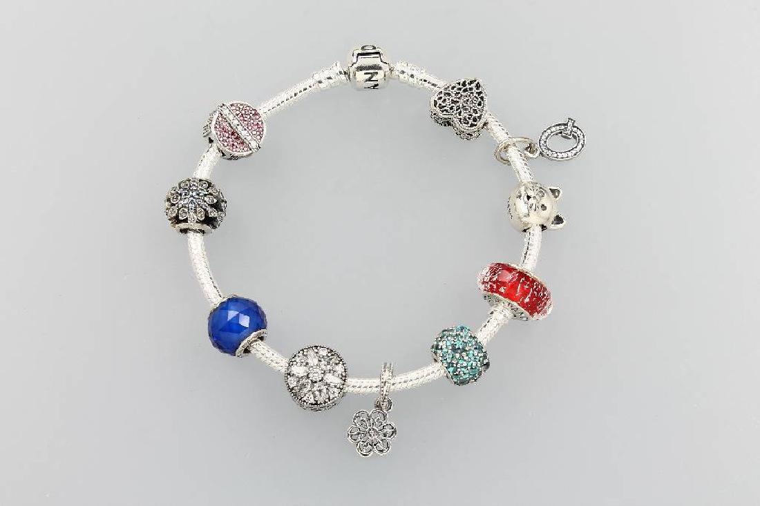 PANDORA bracelet, silver 925