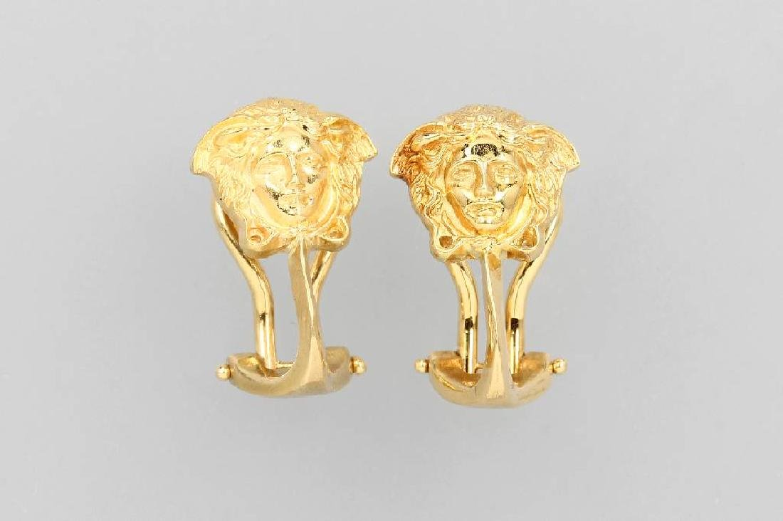 18 kt gold GIANNI VERSACE earrings