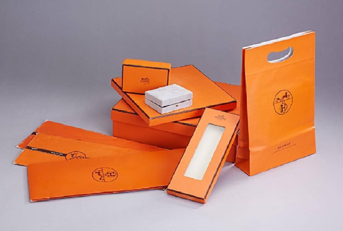 Lot 8 HERMES packagings