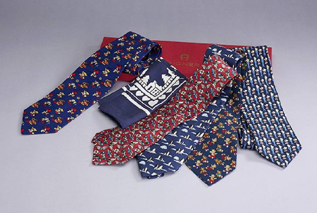 Lot 5 designer ties 'Fancy People'