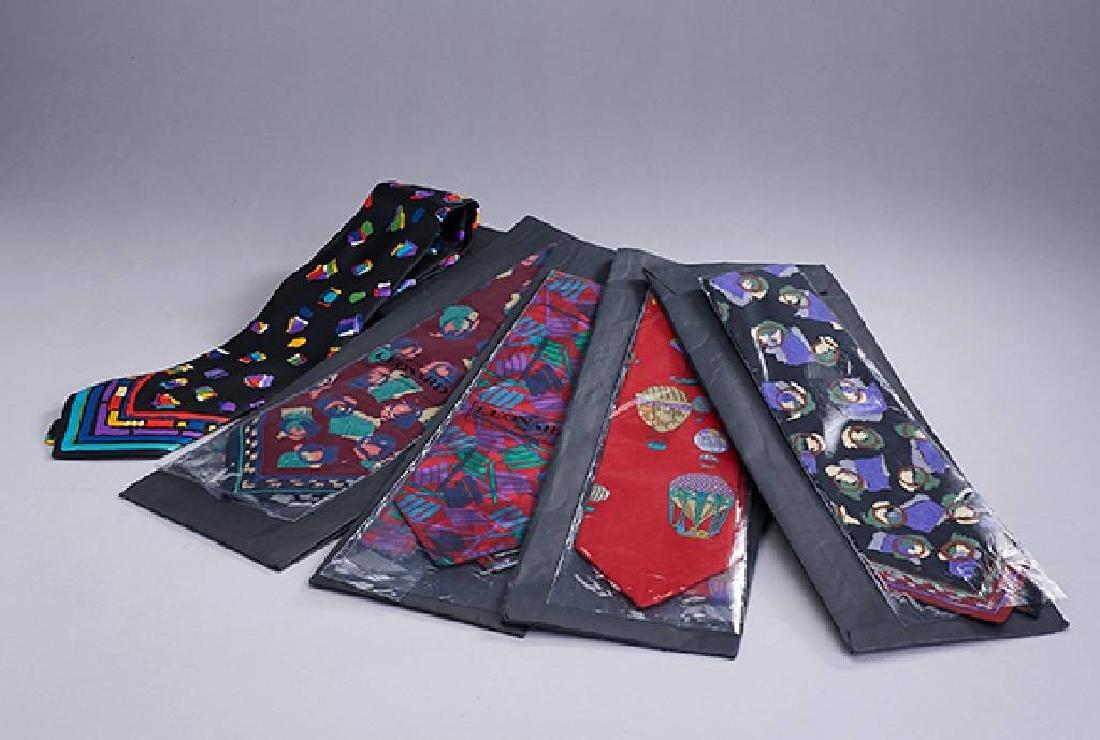 Lot 5 LEONARD ties