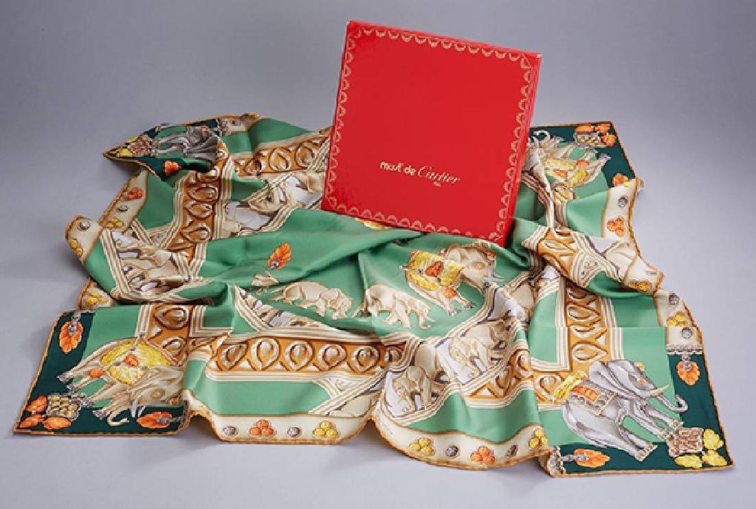 Must de Cartier silk carree