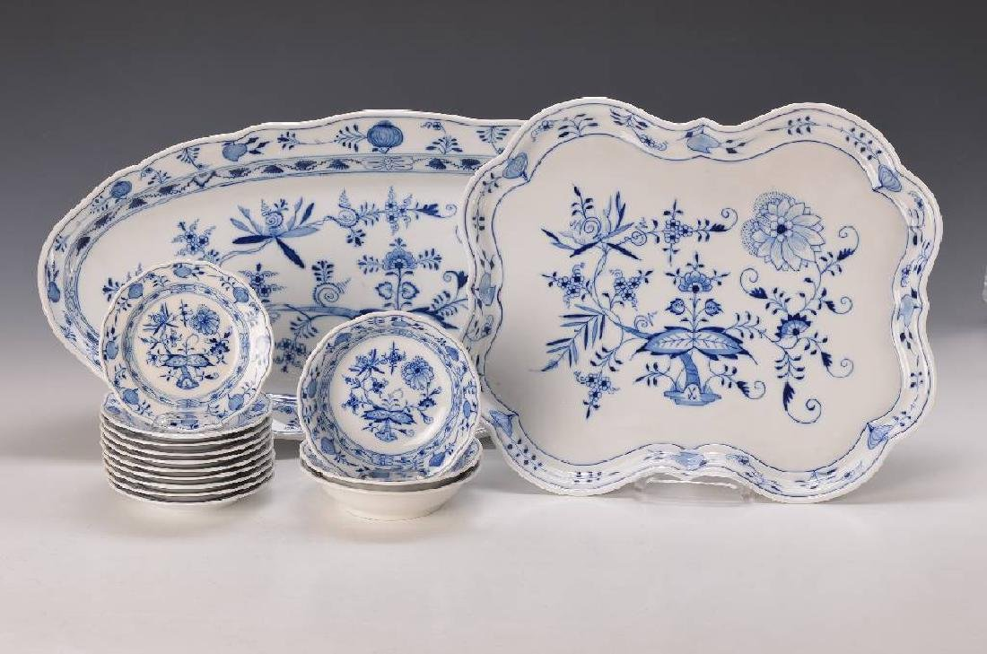 Meissen Blue Onion Pattern
