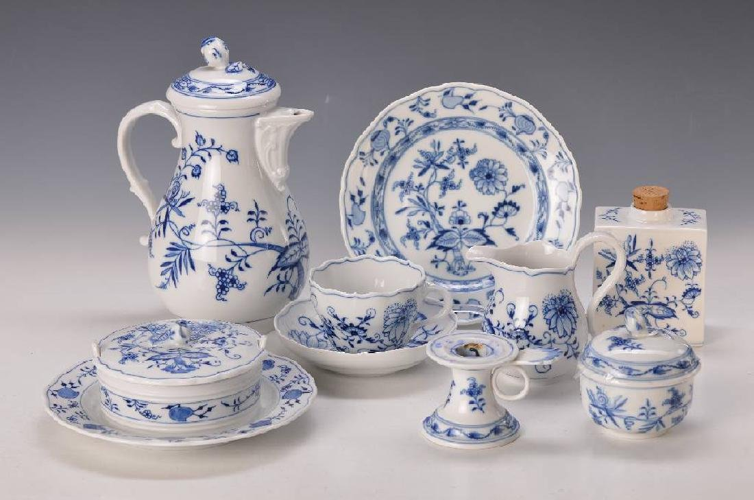 coffee set, Meissen