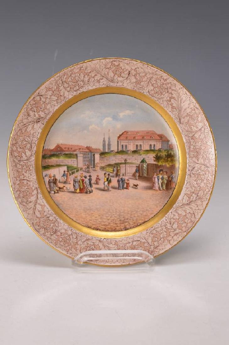 plate, Meissen