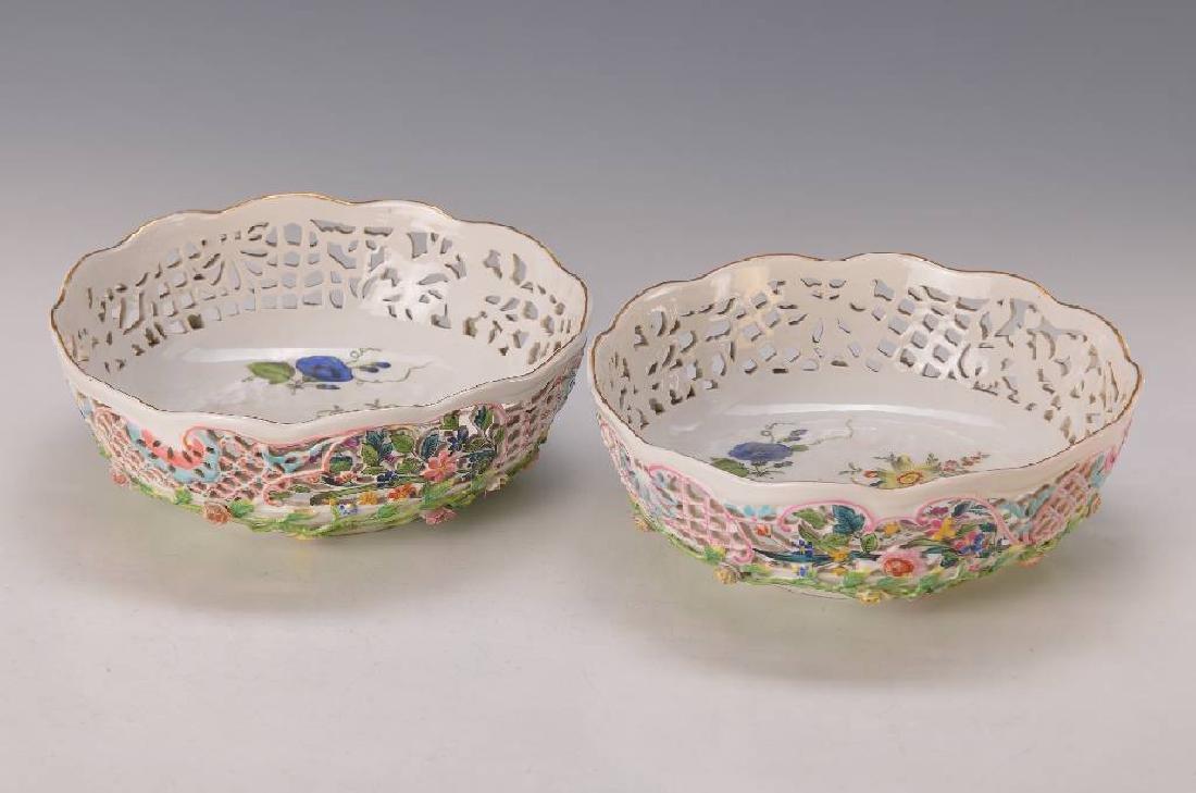 two basket bowls