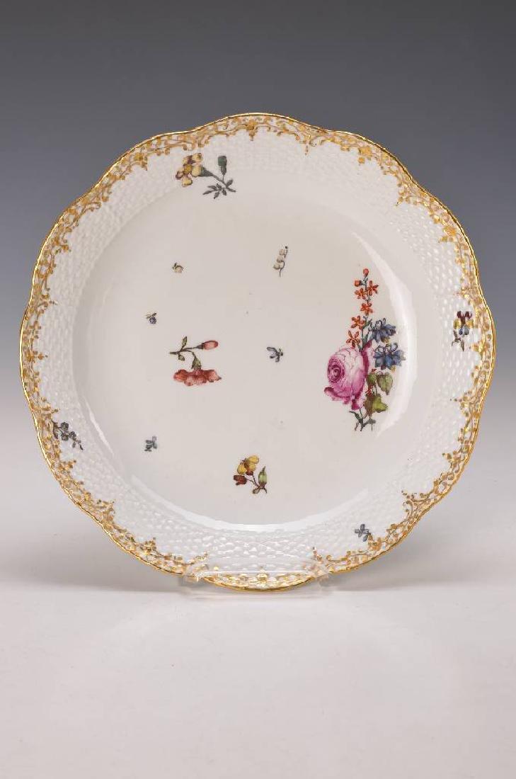 Large plate, Meissen