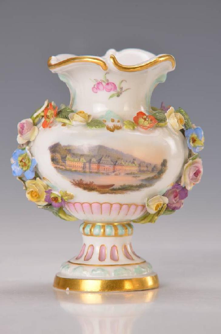 Small pompous vase