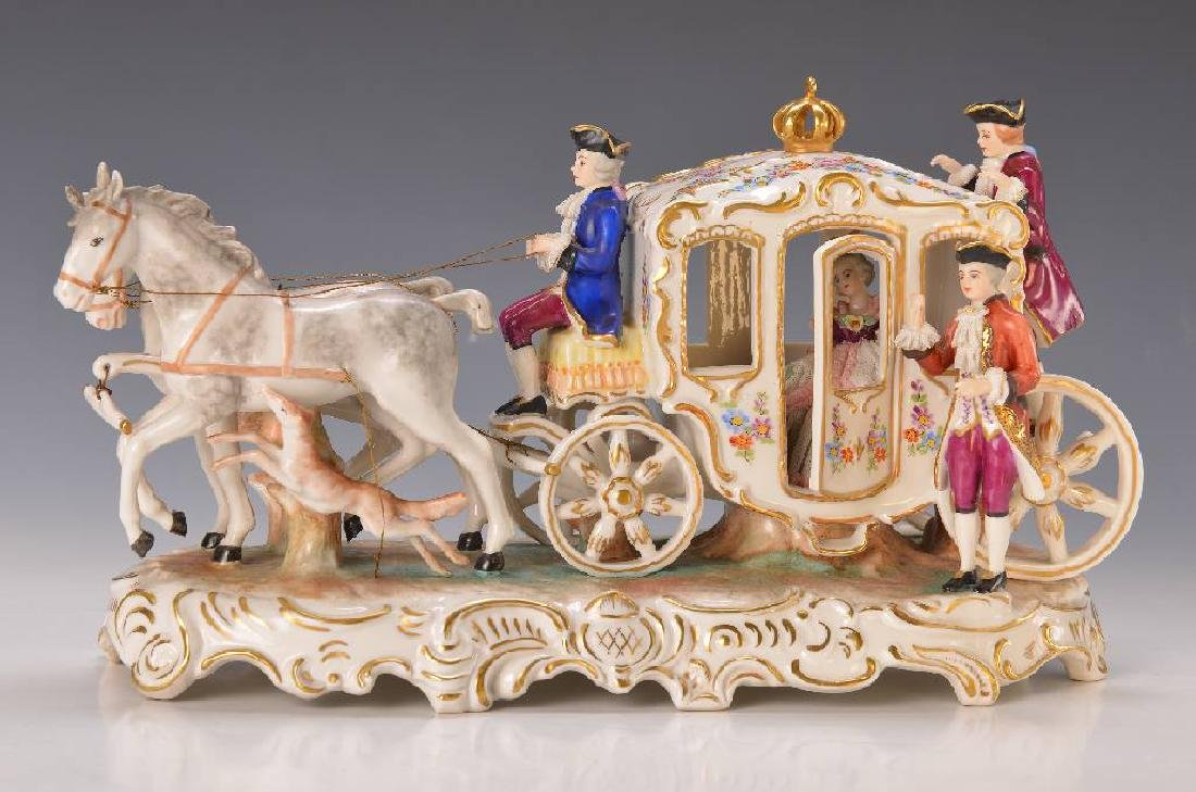 Porcelain carriage
