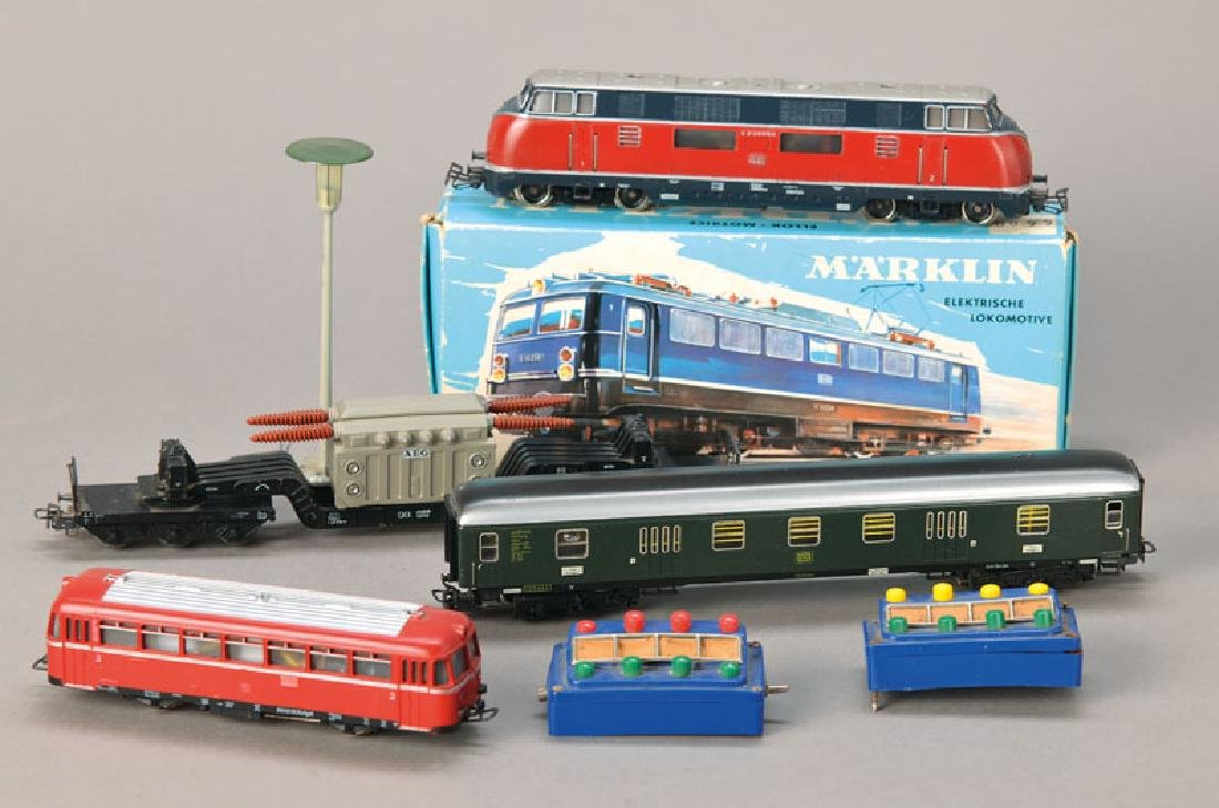 Märklin toy train