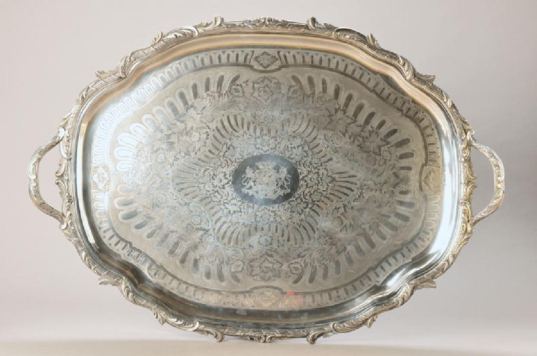 Monumental Silver tray