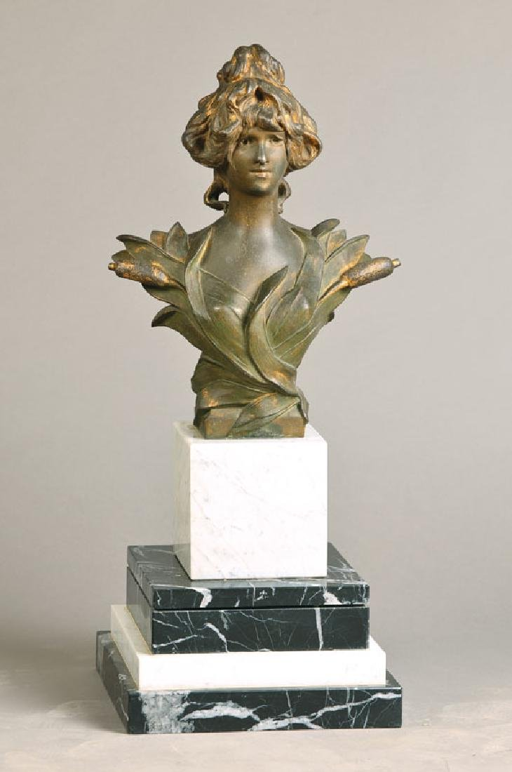 Bust, Art Nouveau