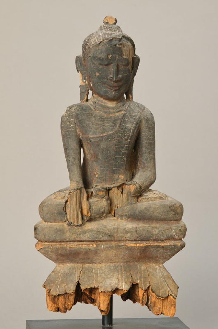 Asana Buddha, Burmese
