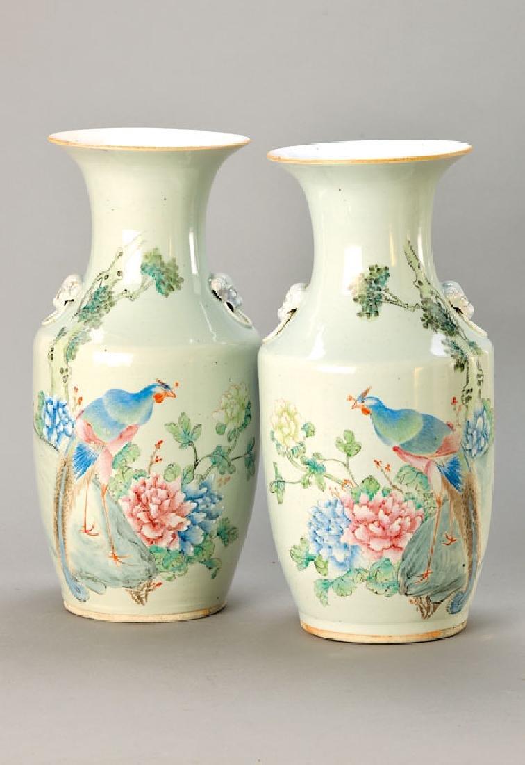pair of vases, China
