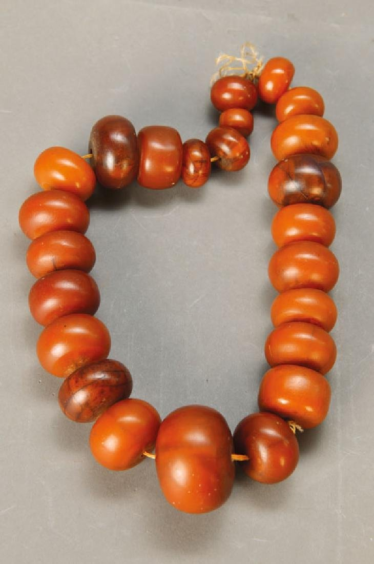 necklace amber bullets