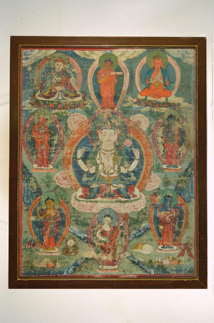 Thangka, Tibet