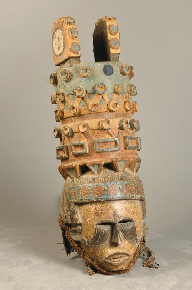 Large mask, Ibo/Nigeria