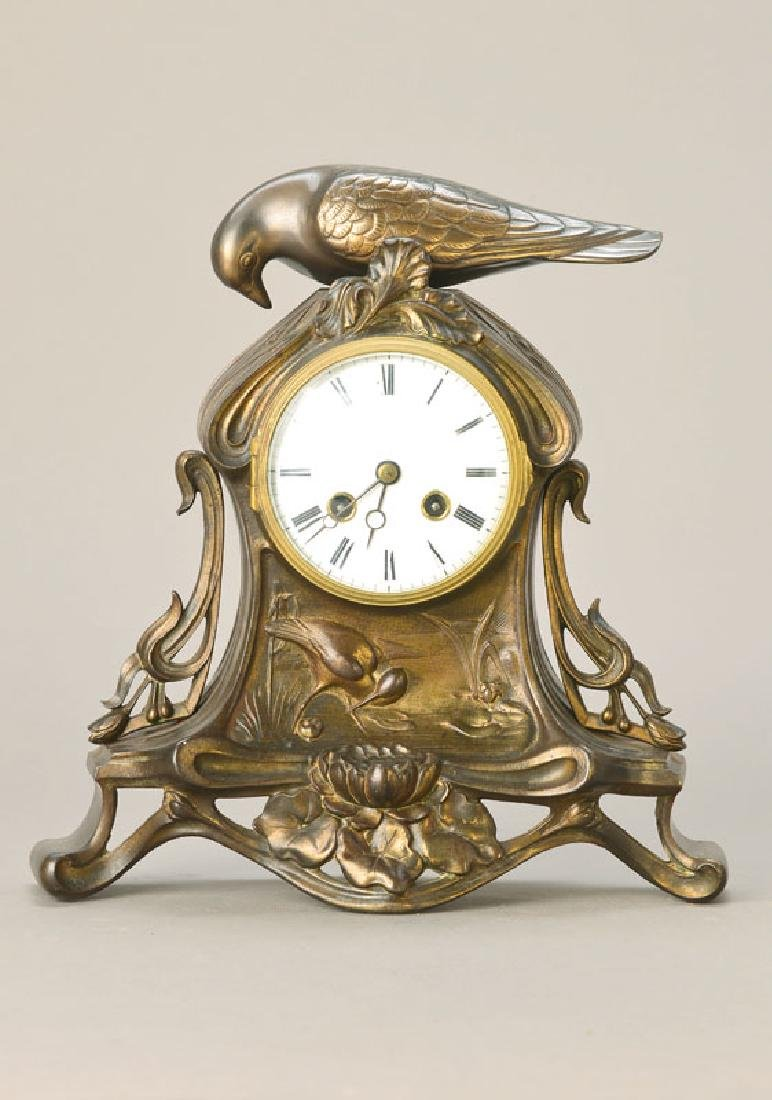 Art Nouveau-table clock