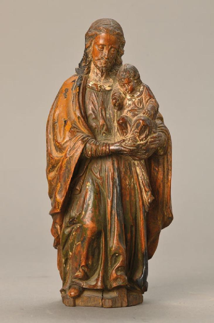 figure of a saint