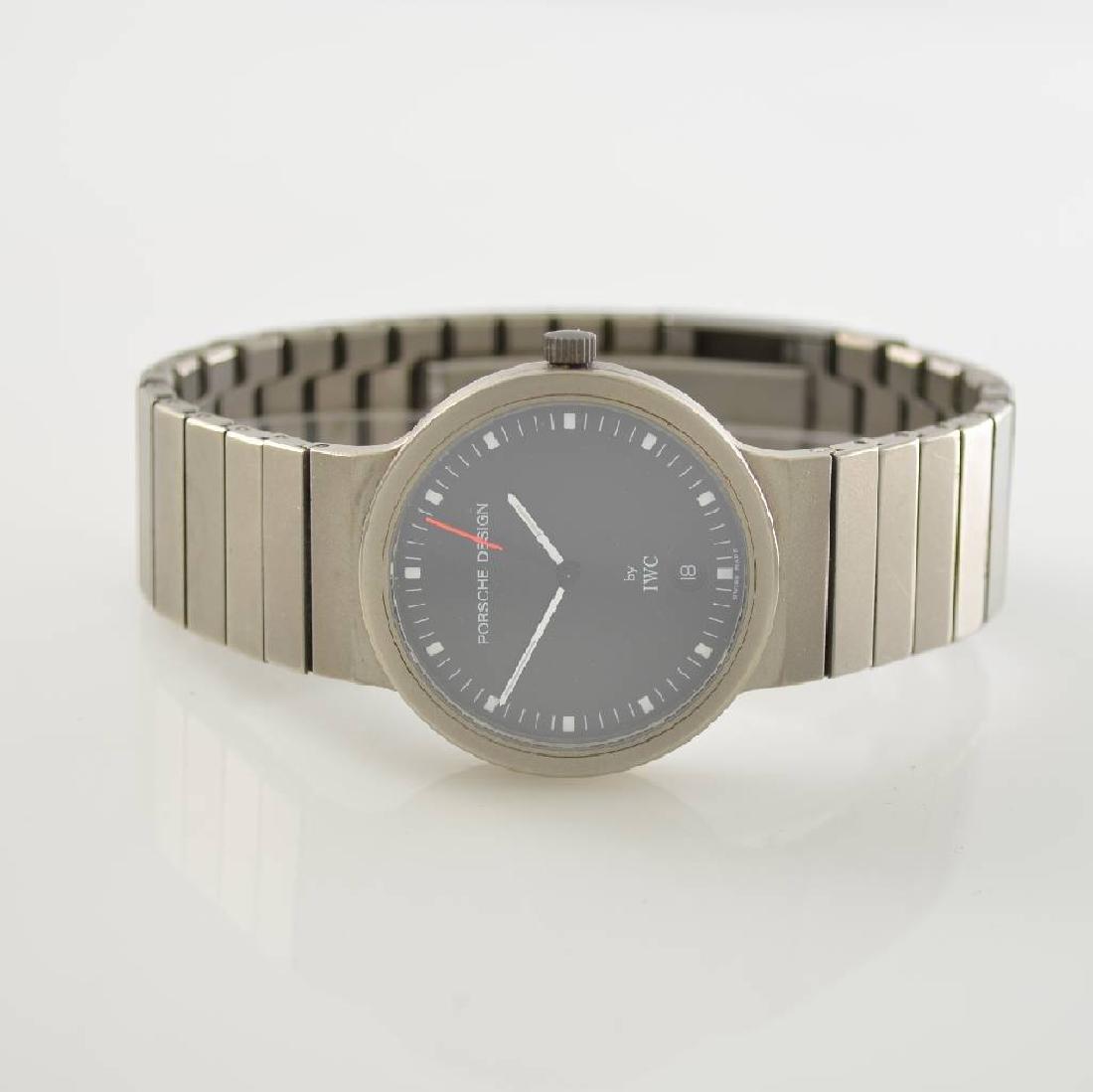 IWC wristwatch in Porsche design reference 3336