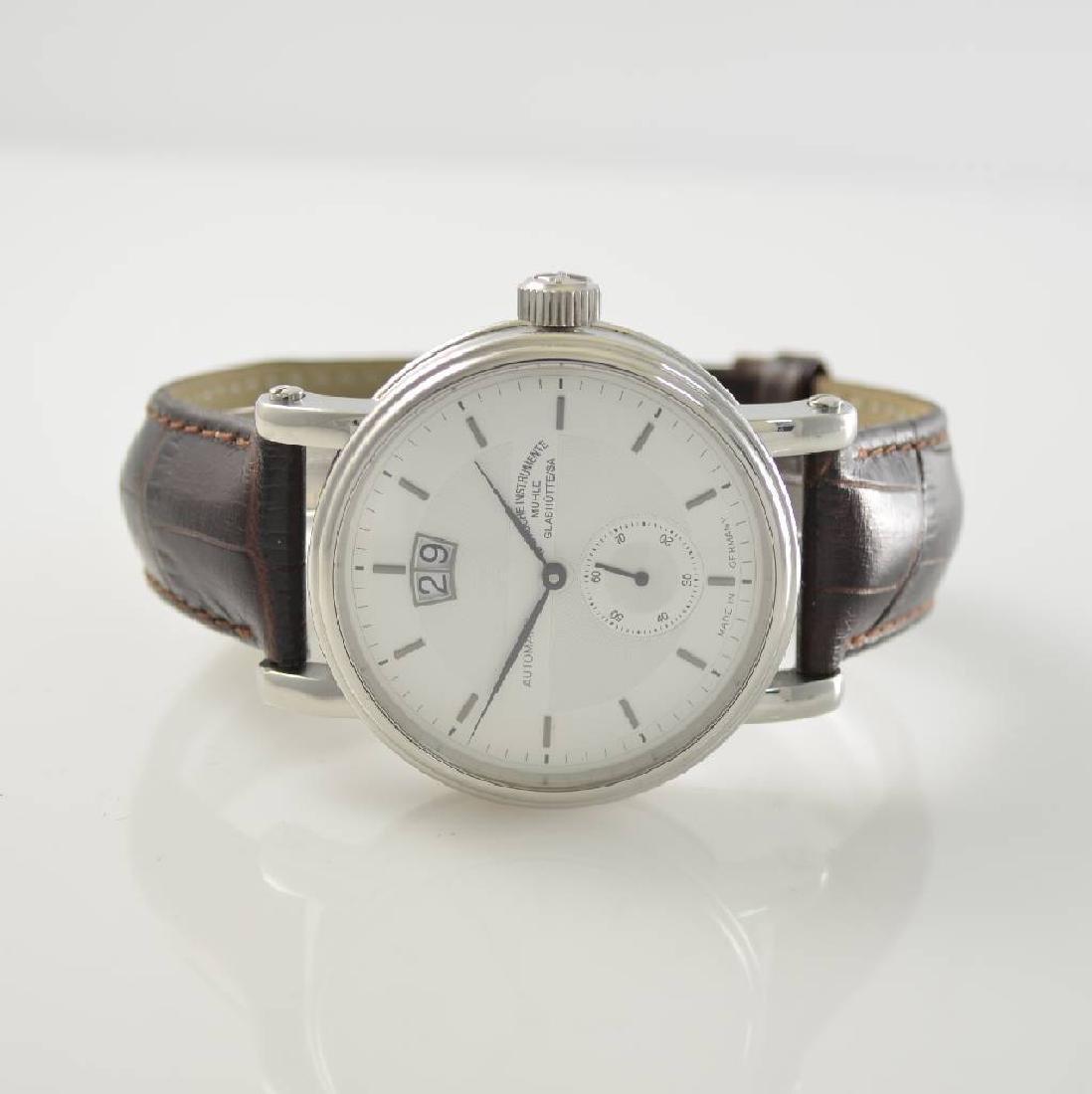 MUHLE GLASHUTTE gents wristwatch Teutonia