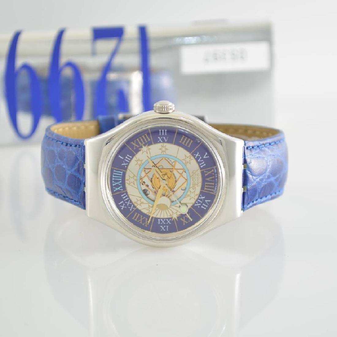 SWATCH fine & rare platinum wristwatch Trésor Maqique