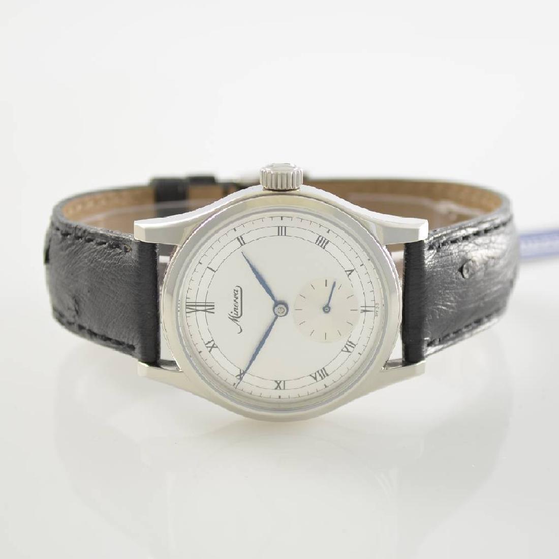 MINERVA calibre 48 gents wristwatch