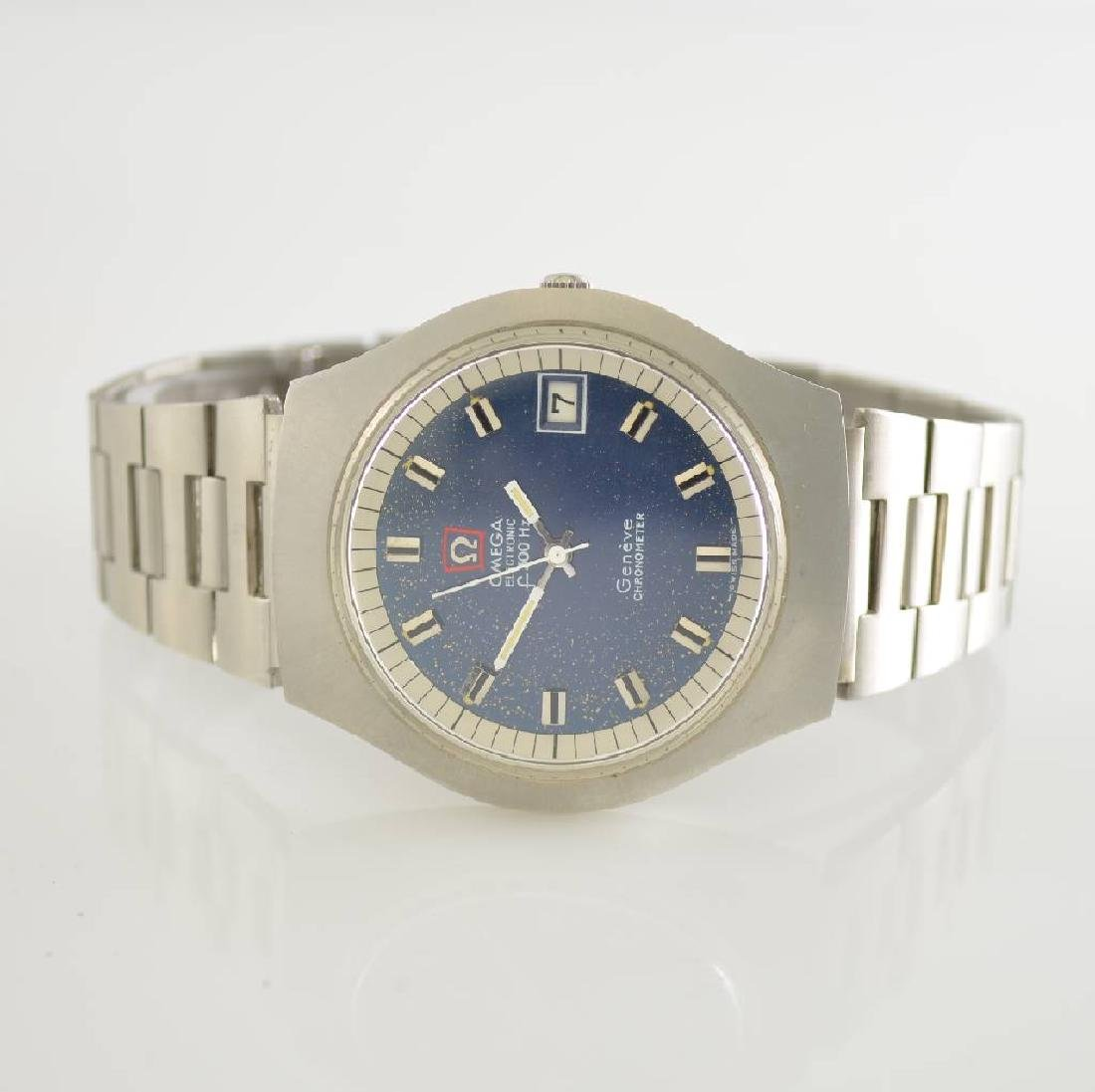 OMEGA Electronic gents wristwatches f300Hz