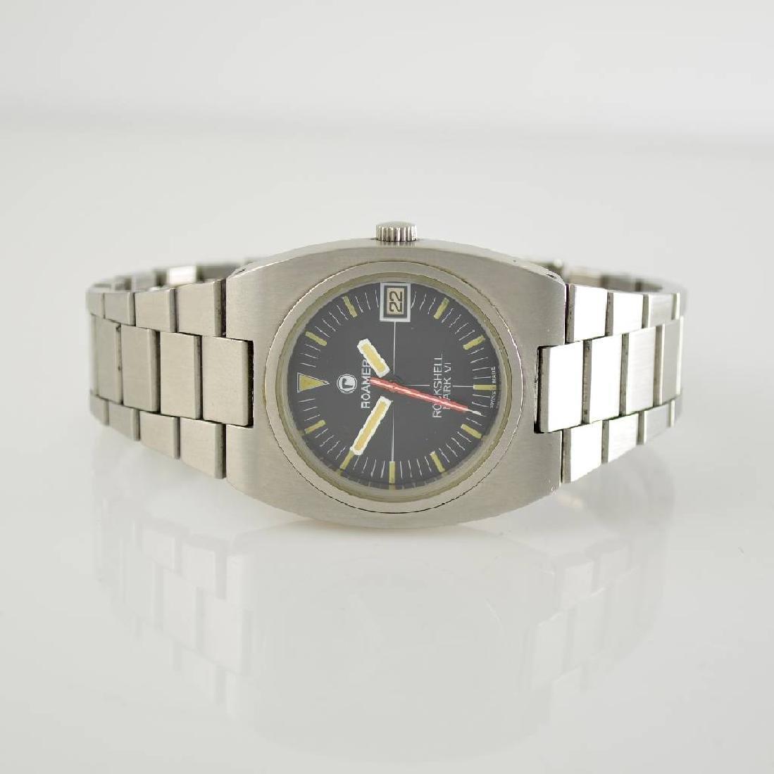 ROAMER rare gents wristwatch Rockshell Mark VI