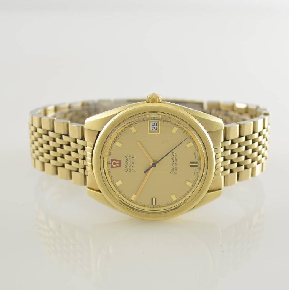 OMEGA gents wristwatch Seamaster chronometer Electronic